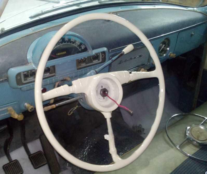 восстановленный руль газ 21