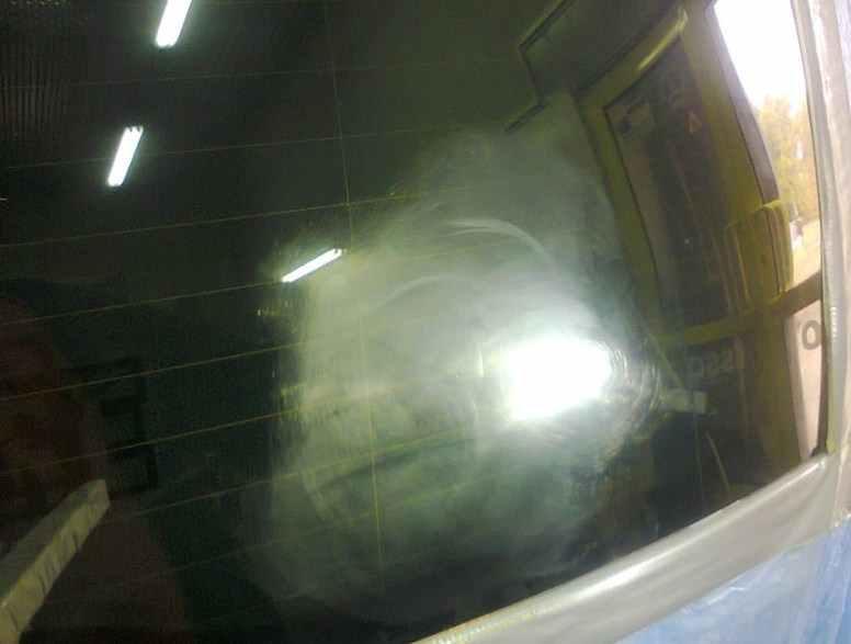полировка стекла после обработки алмазным диском
