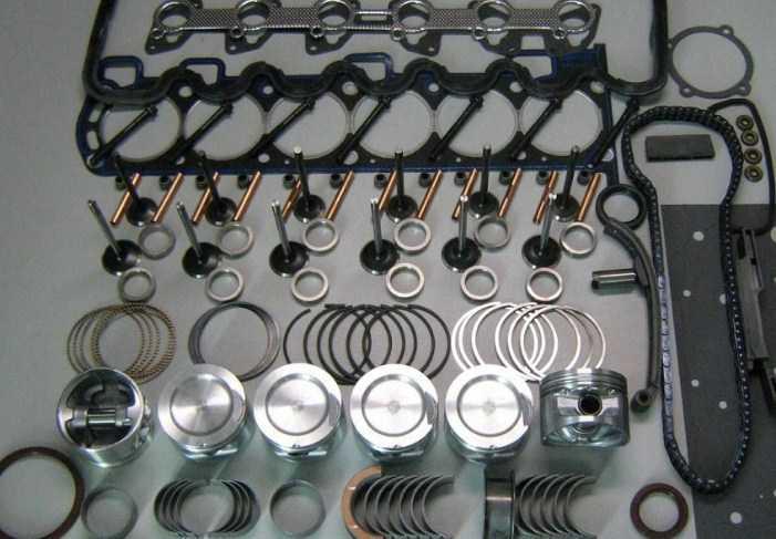 правильная раскоксовка двигателя - разборка
