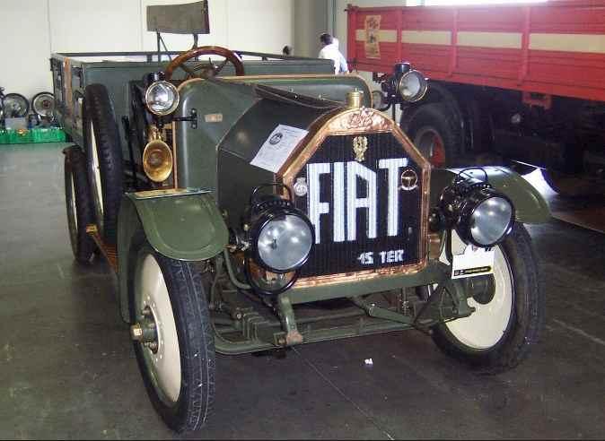 FIAT15 TER - первый грузовик АМО