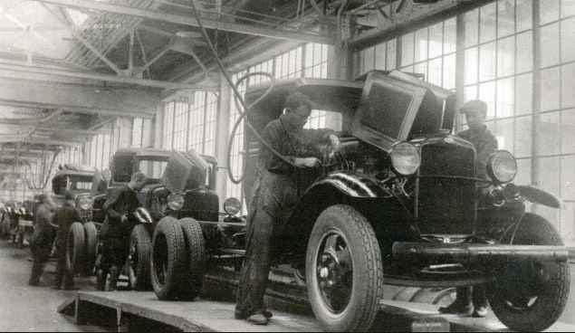 первые советские форды