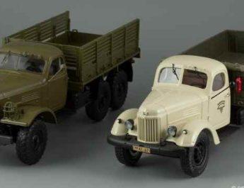 старые грузовики СССР