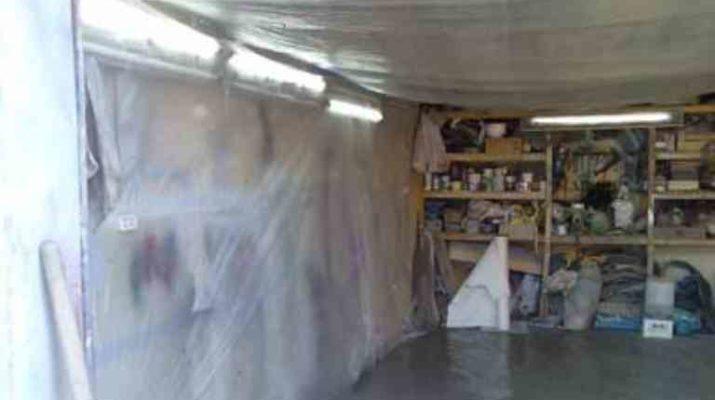 подготовка гаража к покраске автомобиля