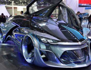 Автомобили будущего по мнению chevrolet