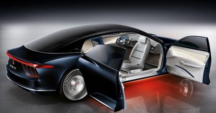 автомобиль из будущего - автопилот, безопасность, гибридная силовая установка