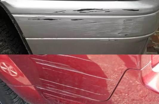 царапины на сером автомобиле менее заметны, если они не сильно глубокие....