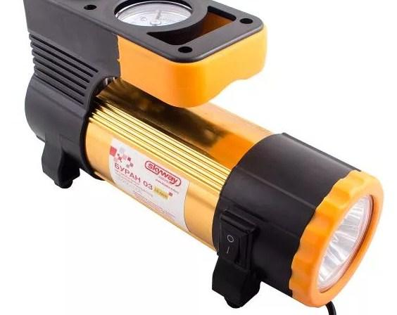компрессор с фонариком