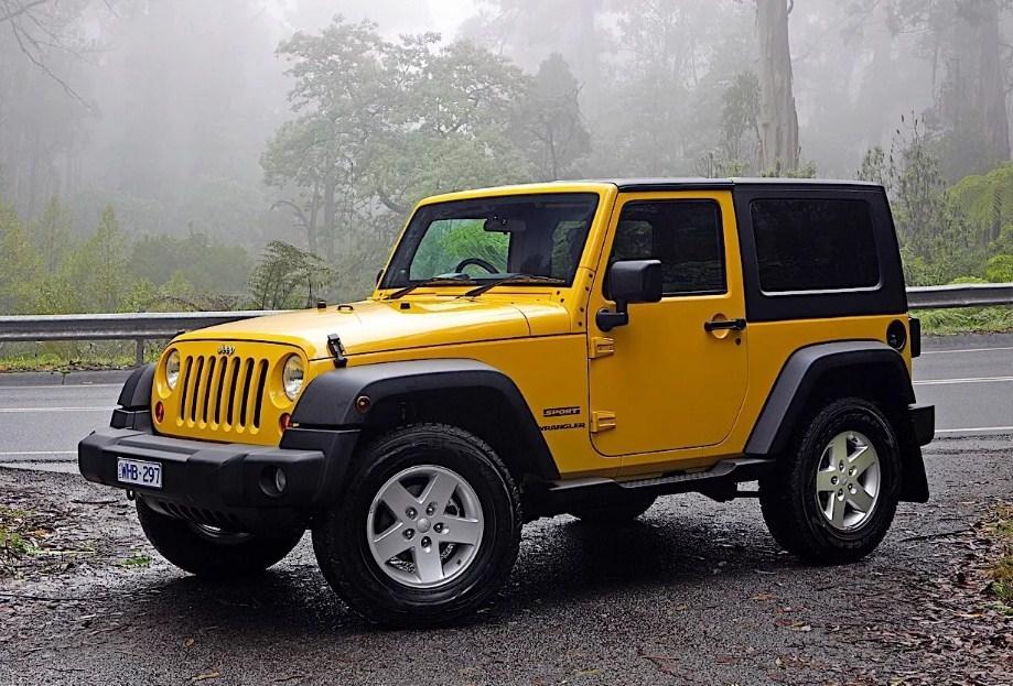 Jeep Wrangler так же оснащается фарами 7 дюймов