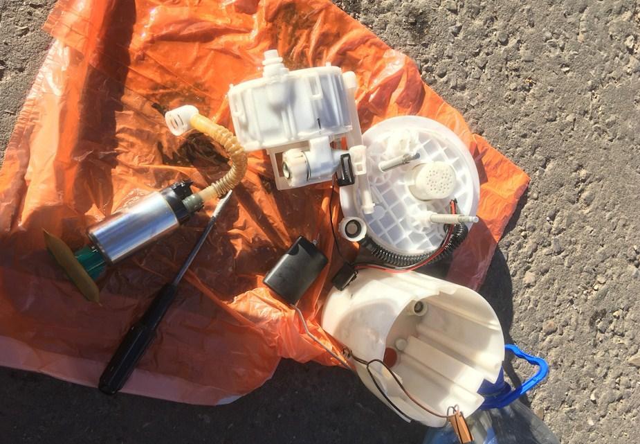 замена топливных фильтров тонкой и грубой очистки на солярисе