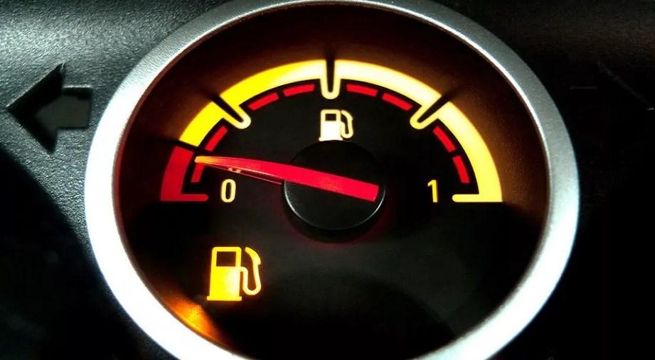 нет бензина лампа