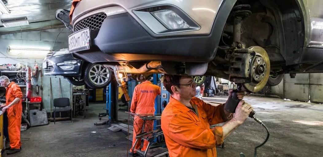 посещение автосервиса - отлоичный способ подерживать автомобиль в инсправном состоянии и экономить топливо