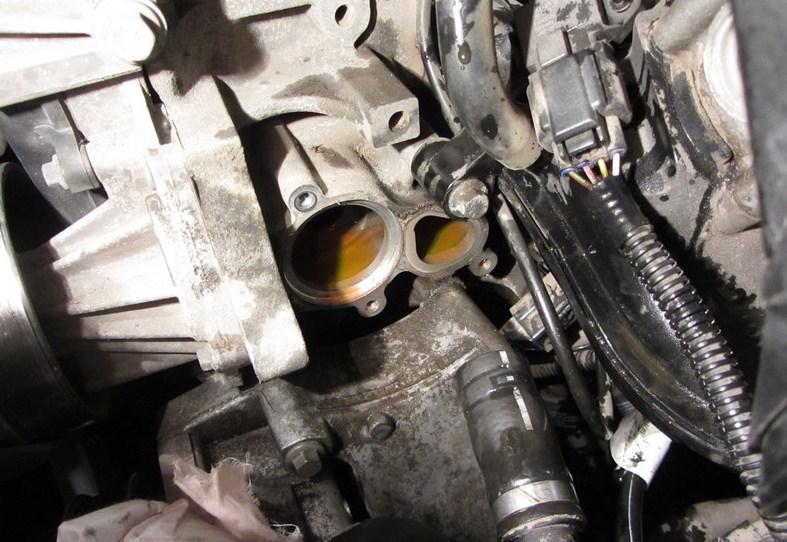 замена термостата форд фокус 2