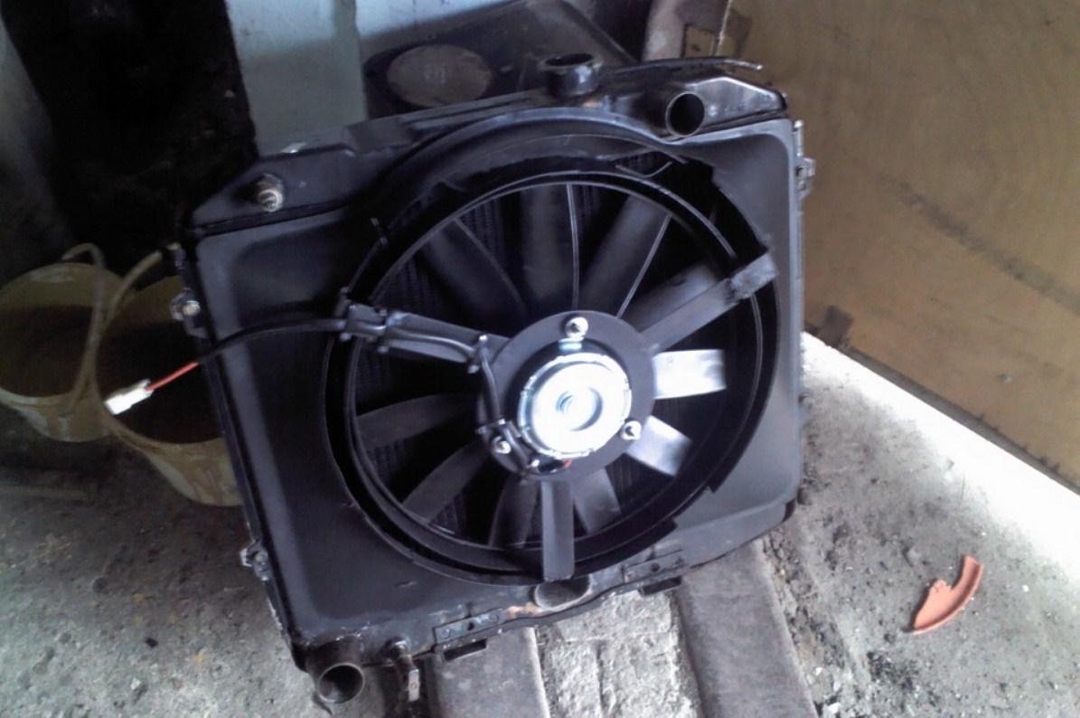 электровентилятор системы охлаждения