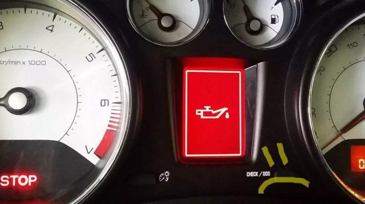 Почему пропало давление масла в двигателе?