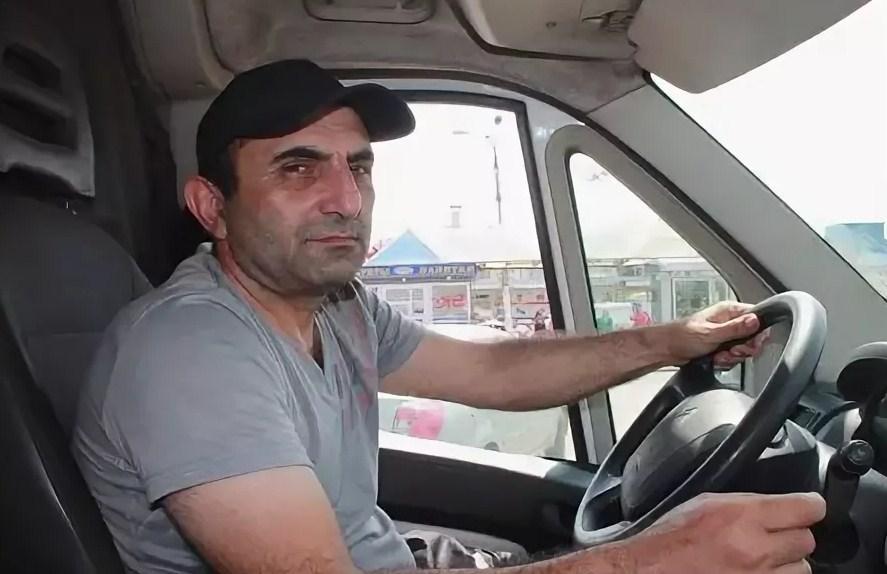 Водитель узбек