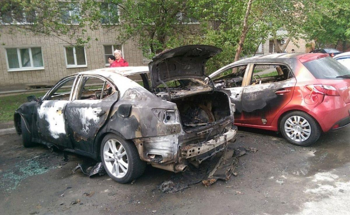 Автомобиль сгорел - отличный пример максимального ущерба