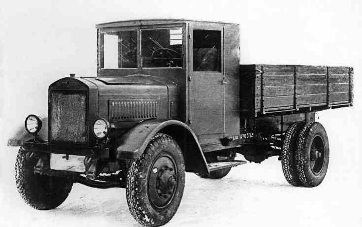 я-5 грузовик Ярославского завода