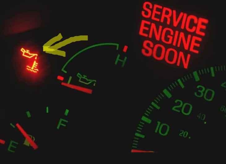 езда внатяг на лампочке - отличный вариатн как быстро убить двигатель автомобиля