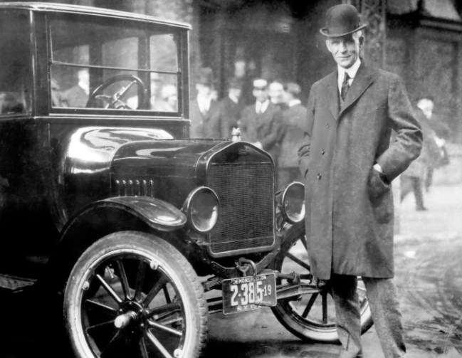 лучший автомобиль - новый автомобиль, Генри Форд