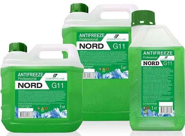 антифриз g11