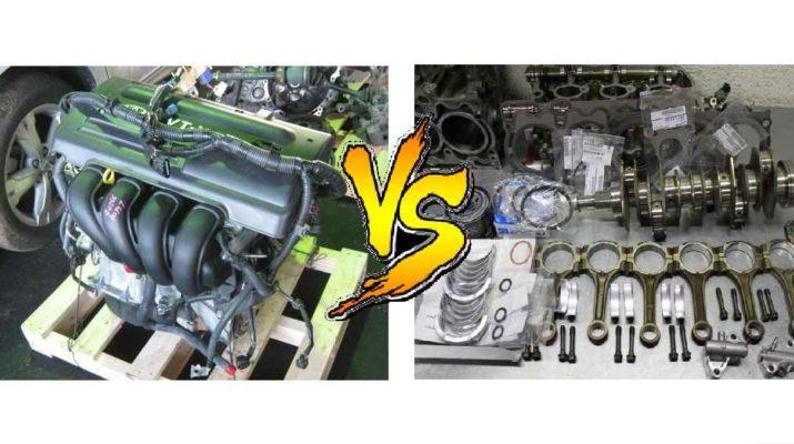 капитальный ремонт или контрактный двигатель, что выбрать?