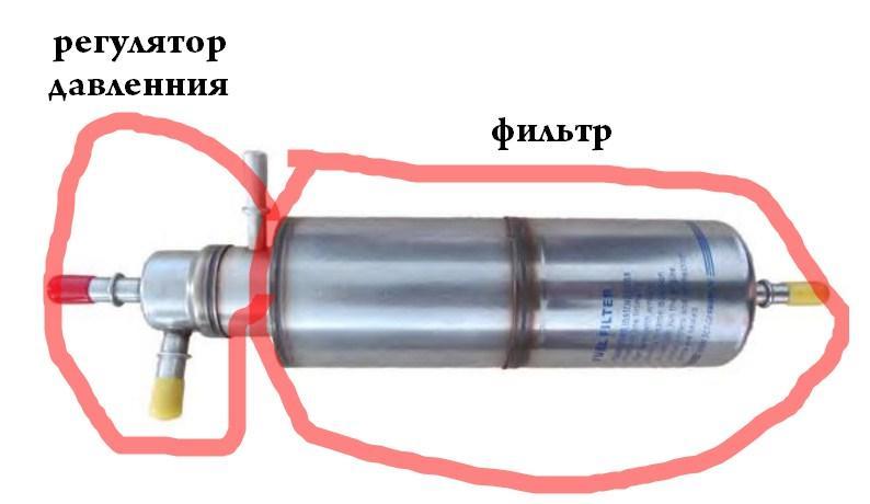 конструкция топливного фильтра w163