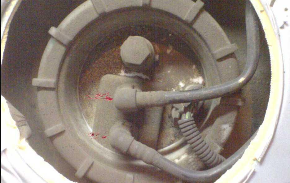 топливный насос mercedes w163