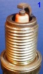 нормальная свеча в исправном двигателе