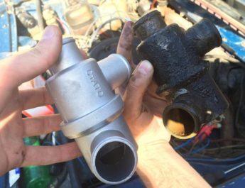 Замена термостата ваз 2107