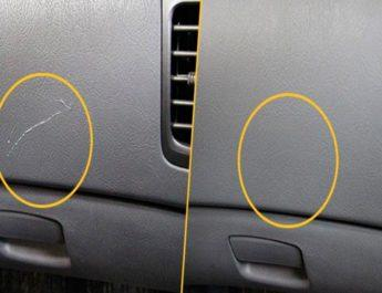 Как быстро убрать царапины с пластика в салоне автомобиля?